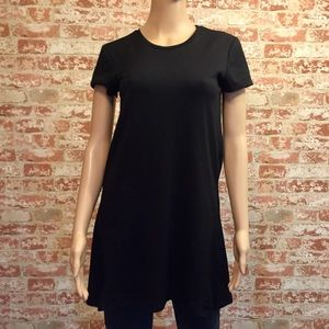 Zara Black Tunic, size S